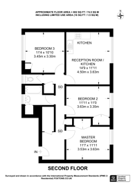 Large floorplan for Maskell Road, Earlsfield, SW17