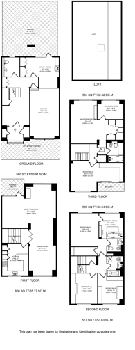 Large floorplan for Blandford Street, Marylebone, W1U