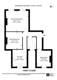 Large floorplan for Scawfell Street, Shoreditch, E2