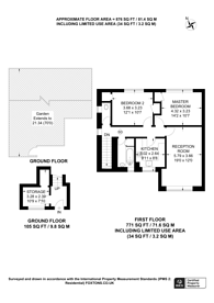 Large floorplan for Fountains Avenue, Hanworth, TW13