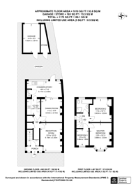Large floorplan for Annsworthy Crescent, South Norwood, SE25
