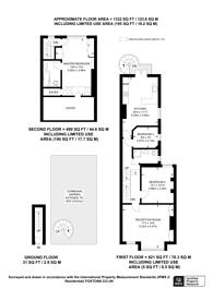 Large floorplan for Niton Street, Bishop's Park, SW6