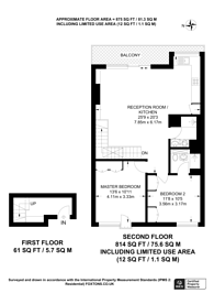 Large floorplan for Devonshire Mews North, Marylebone, W1G
