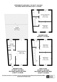 Large floorplan for Fyfield Road, Brixton, SW9