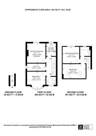 Large floorplan for Mackie Road, Brixton, SW2