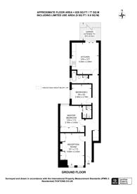 Large floorplan for Oakmead Road, Balham, SW12