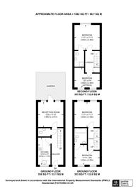 Large floorplan for Chapman Place, Finsbury Park, N4