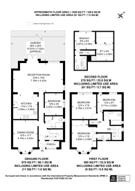 Large floorplan for Sundew Avenue, Shepherd's Bush, W12