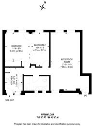 Large floorplan for Fulham Road, Chelsea, SW3