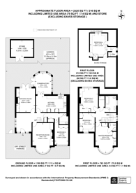 Large floorplan for Cavendish Road, New Malden, KT3
