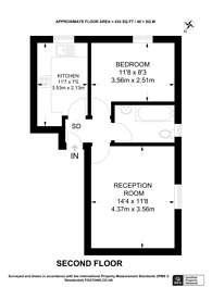 Large floorplan for Auckland Road, Crystal Palace, SE19