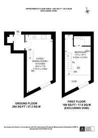 Large floorplan for Highgate Road, Kentish Town, NW5