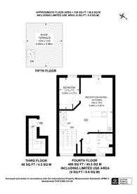 Large floorplan for Hatherley Grove, Bayswater, W2