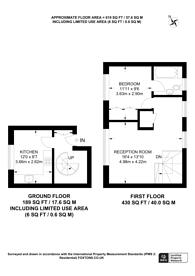 Large floorplan for Tyrrel Square, Mitcham, CR4