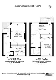 Large floorplan for Yarnfield Square, Peckham, SE15