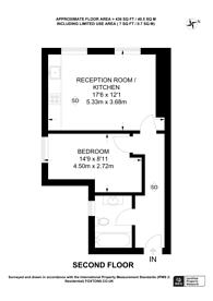 Large floorplan for Church Lane, Hornsey, N8