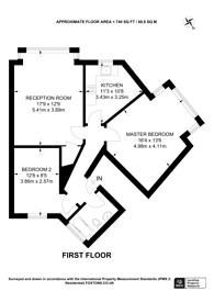 Large floorplan for Caledonian Road, Holloway, N7