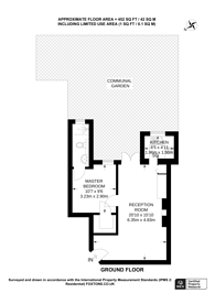 Large floorplan for Earlsfield Road, Earlsfield, SW18