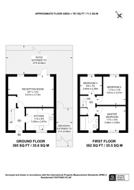 Large floorplan for Wellington Road, Forest Gate, E7