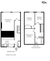 Large floorplan for Atwater Close, Tulse Hill, SW2