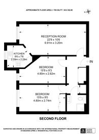 Large floorplan for Forty Avenue, Preston, HA9