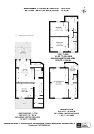 Large floorplan for Bloomfield Terrace, Belgravia, SW1W
