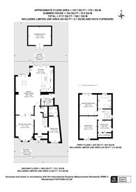 Large floorplan for The Manor Drive, Worcester Park, KT4