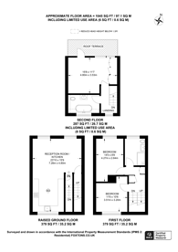 Large floorplan for Lough Road, Islington, N7