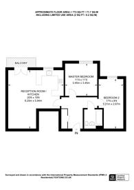 Large floorplan for Wandle Road, Central Croydon, CR0