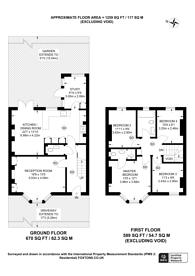 Large floorplan for Torridon Road, Catford, SE6