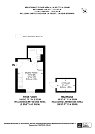 Large floorplan for Oakley Square, Camden, NW1