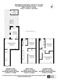 Large floorplan for Sheepcote Lane, Battersea, SW11
