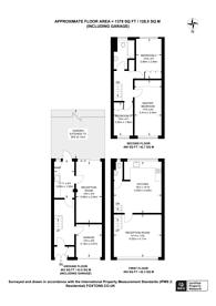 Large floorplan for Mays Lane, Barnet, EN5