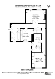 Large floorplan for Palace Street, Westminster, SW1E