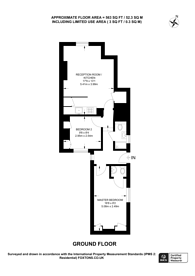 Large floorplan for Clarendon Street, Pimlico, SW1V