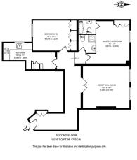 Large floorplan for Stone House, Marylebone, W1W