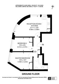 Large floorplan for Lansdowne Road, Notting Hill, W11