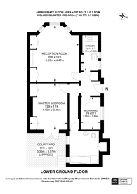 Large floorplan for Spencer Road, Wandsworth, SW18