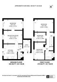Large floorplan for Park Barn Drive, Guildford, GU2