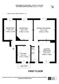 Large floorplan for Adare Walk, Streatham Hill, SW16