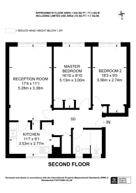 Large floorplan for Walpole Road, Teddington, TW11