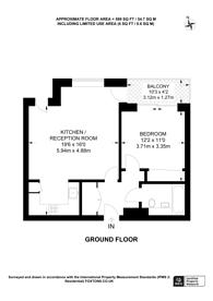 Large floorplan for St Williams Yard, Islington, N1