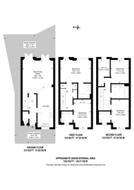 Large floorplan for Hertford Road, Islington, N1
