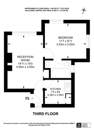 Large floorplan for Kimber Road, Southfields, SW18