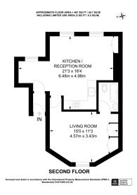 Large floorplan for Brixton Hill, Brixton Hill, SW2