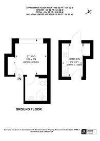 Large floorplan for Greenford Road, Greenford, UB6