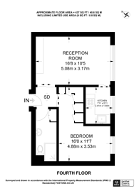 Large floorplan for Westbourne Grove Terrace, Bayswater, W2