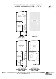 Large floorplan for Clanricade Gardens, Notting Hill Gate, W2
