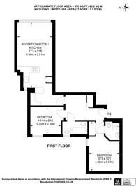 Large floorplan for Railshead Road, St Margarets, TW7