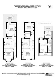 Large floorplan for Glycena Road, Clapham Junction, SW11